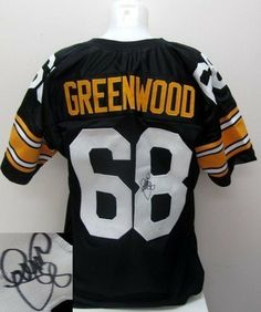 "L.C. Greenwood Signed Pittsburgh Steelers Black Custom Jersey JSA . $149.00. Featured is a SIGNED LC Greenwood Steelers Custom Black Jersey. This jersey was hand signed by Greenwood at a private signing and includes a JSA hologram and Certificate of Authenticity. Greenwood was a member of the ""Steel Curtain"" defensive line."