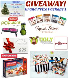 Celebrate #ChristmasInJuly and enter for over $500 in prizes! #Giveaway Ends 7/27 #TheMommyIsland