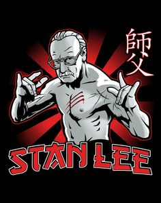 Stan The Master T-Shirt | Stan Lee as Bruce Lee at ShirtPunch today only! $10