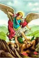 Shop St Michael Archangel Poster San Miguel Arcangel created by Catoliquisimo. Personalize it with photos & text or purchase as is! Saint Michael, St Michael Prayer, St Micheal, Chaplet Of St Michael, Catholic Prayers, Catholic Bible, Angel Prayers, Catholic Gifts, Roman Catholic