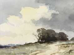 Edward Seago - The Hill Copse -