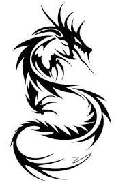 Image result for tribal japanese dragon tattoo