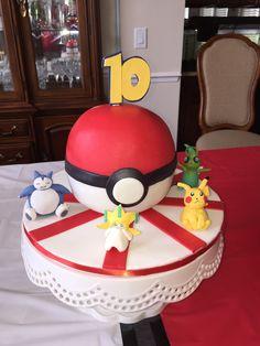 The Pokeball Cake