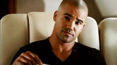 "Because when he laughs his face lights up with the brilliance of a thousand exploding suns. | 25 Reasons To Love Derek Morgan From ""Criminal Minds"""
