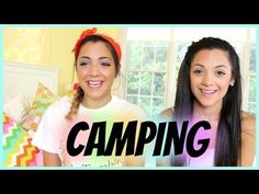 Perfect Summer Camping Makeup Tutorial and Outfit Ideas With Niki And Gabi Beauty!