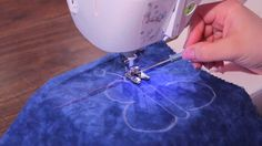 How to use a Fringe / Looper Foot   ----    This multipurpose foot has both practical and decorative uses to make your projects stand out from the crowd. The Fringe / Looper foot can create 3D thread a...