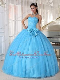 Buy spring green tulle sweetheart beaded sweet 15 dresses with bow from elegant quinceanera dresses collection, sweetheart neckline ball gowns in spring green color,cheap floor length tulle dress with lace up back and for sweet 16 quinceanera . Sweet Sixteen Dresses, Sweet 15 Dresses, Dresses Elegant, Beautiful Dresses, Special Dresses, Teal Quinceanera Dresses, Prom Dresses, Blue Dresses, Lace