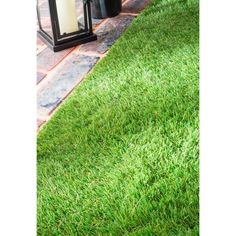 nuLOOM Artificial Grass Outdoor Lawn Turf Green Patio Rug x by Nuloom