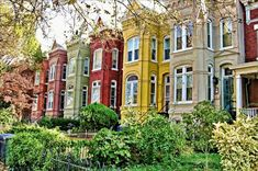 Capitol Hill DC Rowhouses1 OSBP At Home: Our New House + How We Got Here
