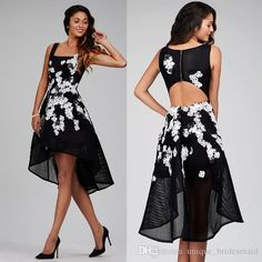 Find More Cocktail Dresses Information about vestido de festa black cocktail dresses 2017 high low appliques lace sequin coctail dress for prom party robe de soiree,High Quality dress elegant,China dress up girls dresses Suppliers, Cheap dress cocktail dress from suzhou  helen wedding dress company on Aliexpress.com