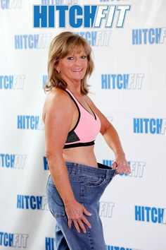 479c92e1e3 Women over 60 Weight Loss Plans Donna lost 22 pounds and body fat with  Hitch Fit Online Weight Loss Plan!