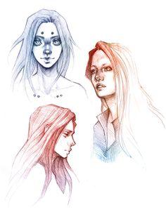 Sketch dump by sashajoe.deviantart.com on @DeviantArt