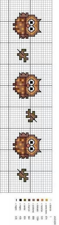 Thrilling Designing Your Own Cross Stitch Embroidery Patterns Ideas. Exhilarating Designing Your Own Cross Stitch Embroidery Patterns Ideas. Cross Stitch Owl, Cross Stitch Bookmarks, Cross Stitch Borders, Cross Stitch Animals, Cross Stitch Charts, Cross Stitch Designs, Cross Stitching, Cross Stitch Embroidery, Embroidery Patterns