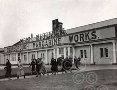 Stork Margarine Works, Bromborough,