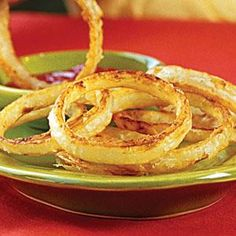 Easy onion rings that are really good!
