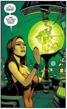 Talia is the daughter of Ra's al Ghul and the heir to his worldwide criminal empire. She has been both lover and mortal enemy to Batman, and is the mother of Damian Wayne. Comic Book Characters, Comic Character, Disney Marvel, Marvel Dc, Comics Girls, Dc Comics, Nyssa Al Ghul, Red Robin, Hugo Strange