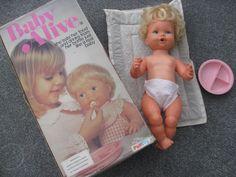 Vintage Kenner 1990 Baby Alive Doll Youtube Baby Alive