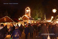 Venerdi 28 Novembre 2014 Winter Wonderland in Hyde Park ... la passeggiata si svolge tra due ali di bancarelle in legno in stile nord Europa in cui è possibile acquistare cibo o souvenirs  #London #Londra #WinterWonderland #HydePark #Natale #Capodanno