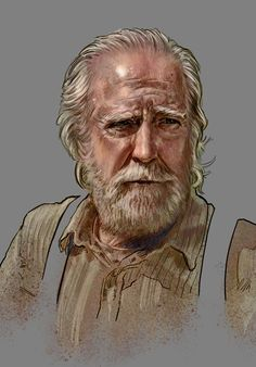 The Walking Dead - Hershel Greene by jasonpal