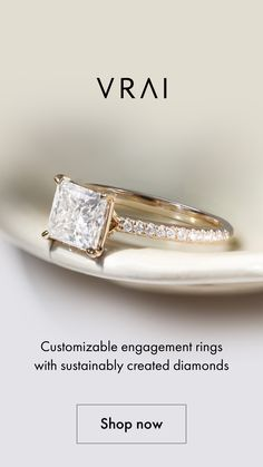 Shop our customizable engagement collection made with sustainably created diamonds, cut and polished by our master craftsmen. Bling Jewelry, Jewelery, Jewelry Accessories, Unique Rings, Beautiful Rings, Modern Engagement Rings, Ring Designs, Wedding Rings, Diamonds