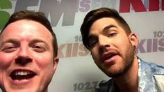 Adam Lambert - JoJo Wright: GREATEST ALBUM ADVERTISEMENT EVER!!! Funny talking!