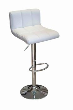 46ae66dea18d Neptune White Padded Seat Bar Stool Ghost Chairs, Tesco Direct, Kitchen  Styling, Leather