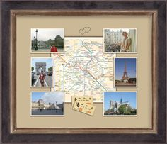 Framing vacation photos and souvenirs will bring back happy memories and maybe even inspire your next adventure!