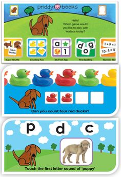 A wonderful preschool learning series. Free App with plenty content to play around, and option to get additional games with in-app purchase