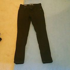 Girls Black Skinny Jeans Real denim. A wider fit Cherokee Jeans Skinny