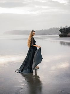 Emotive & moody engagement photos on a black sand beach via Magnolia Rouge Beach Poses, Beach Shoot, Black Sand Beach Bali, Beach Engagement Photos, Beach Portraits, Family Portraits, Candid Photography, Children Photography, Inspiring Photography