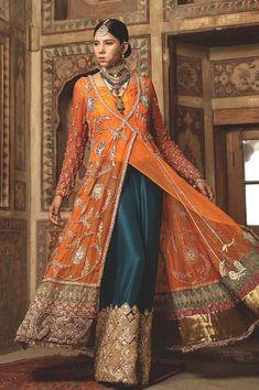 We shine the spotlight on some memorable styles to inspire you to find the perfect look! Pakistani Mehndi Dress, Pakistani Formal Dresses, Pakistani Wedding Outfits, Pakistani Dress Design, Indian Dresses, Indian Outfits, Pakistani Fashion Party Wear, Punjabi Fashion, Dress Formal