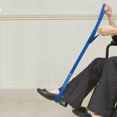 This Dual Handle leg lifter can be ordered online from the NRS Mobility and Access collection. Allows user to independently left legs into a bed or car - VAT Exemption Available. Wheelchair Cushions, Rope Ladder, Mobility Aids, Adjustable Beds, Handle, Legs, Door Knob, Bridge