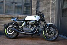 Hell Kustom Harley Davidson Roadster By Limoge
