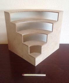 Concave display stand kit | McQueenie Miniatures