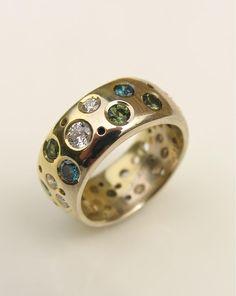 i want this gorgeous ring - www.debrafallowfield.com Diamond Rings, Gold Rings, Gemstone Rings, Fox Ring, Right Hand Rings, Ear Rings, Cocktail Rings, Glitters, Ring Designs
