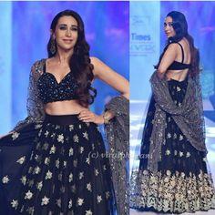 Karisma Kapoor, Indian Outfits, Indian Beauty, Lehenga, Most Beautiful, Sequin Skirt, Celebrities, Skirts, Angels