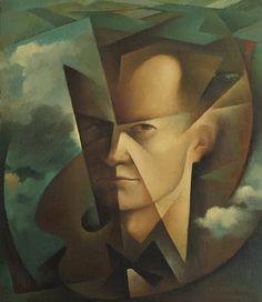 self portrait - tullio crali