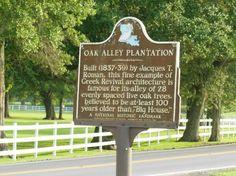Oak Alley Plantation: Entrance to Oak Alley