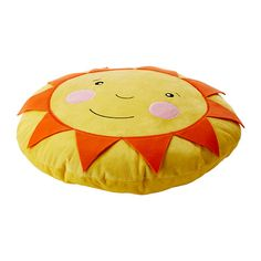 SOLIGT Cushion, yellow 40 cm yellow