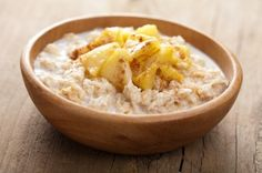 cereal with caramelized apple     Bamix