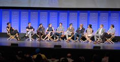 Photos from the Arrow and Flash spotlights at the 2015 PaleyFest Flash Barry Allen, Geoff Johns, Dc Comics Characters, The Cw, The Flash, Comic Character, Arrow, Arrows