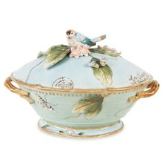 Fitz & Floyd Toulouse 9.75-Inch Tureen with Ladle - BedBathandBeyond.com