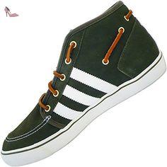 new style c355e f5e6a Adidas - Originale Chaussures Pour Homme Court Deck Vulc Mid V24025  Chaussures Classiques - Marron,
