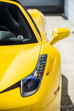 yellow.quenalbertini: Ferrari 458 Italia Spider