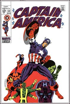 Here's my favorite Marvel cover from the 1960's collection!  Cover art by Jack Kirby, Don Heck, Jim Steranko, Steve Ditko, Wally Wood, Dick Ayers & Gene Colan