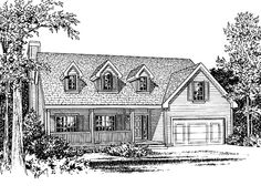 Eplans Country House Plan - Three Bedroom Country - 1495 Square Feet and 3 Bedrooms from Eplans - House Plan Code HWEPL57952