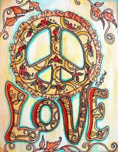 Image detail for -Henna Peace Singleton Hippie Art Original by justgivemepeace Hippie Peace, Happy Hippie, Hippie Love, Hippie Style, Hippie Things, Hippie Chick, Hippie Kids, 1970s Hippie, Peace On Earth