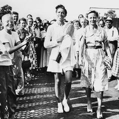 Tennis champion Althea Gibson, likely US Open 1957 Althea Gibson, Taylor Townsend, American Tennis Players, Monica Seles, Venus And Serena Williams, Tennis News, Billie Jean King, Film Awards, Professional Women