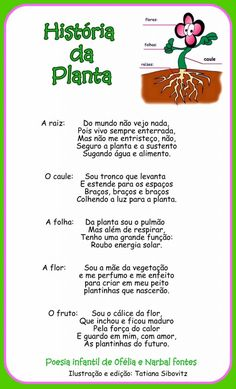 ATIVIDADES SOBRE AS PARTES DAS PLANTAS Five Senses Preschool, My Five Senses, Jean Piaget, Reggio Emilia, I School, Study Tips, Science And Nature, Kids Education, School Routines