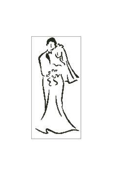 Wedding cross stitch pattern PDF Instant by CrossStitchForYou, $4.50